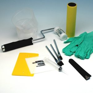 Tools & supplies for working with epoxy