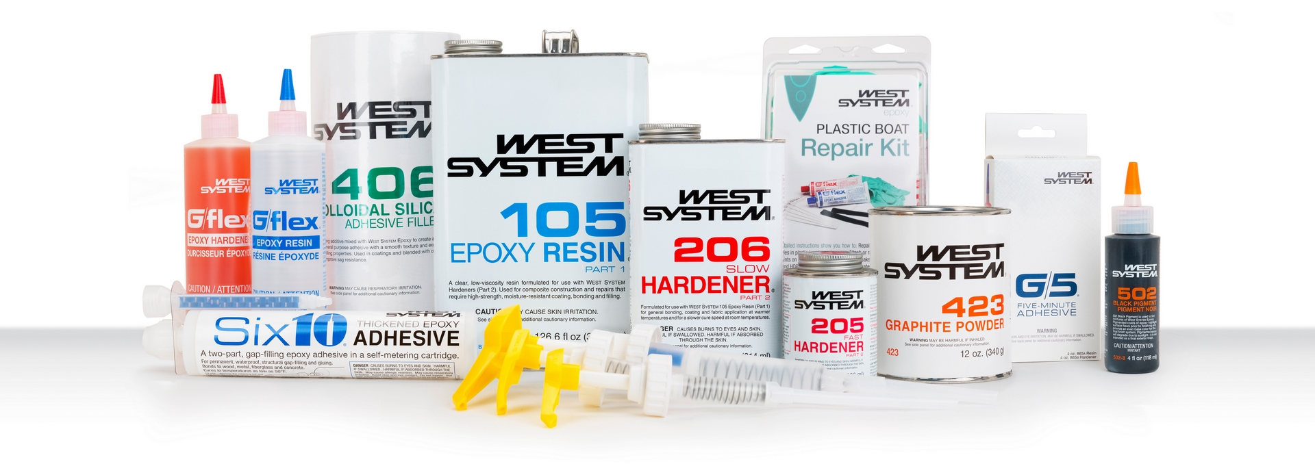 WEST SYSTEM Marine-Grade Epoxy Products